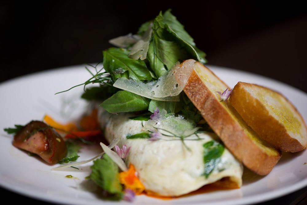 Mushroom Omelet - Shakewell Oakland