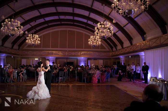 Duet's students, Susan and Dennis, dancing at their wedding. Photo by Nakai Photography.