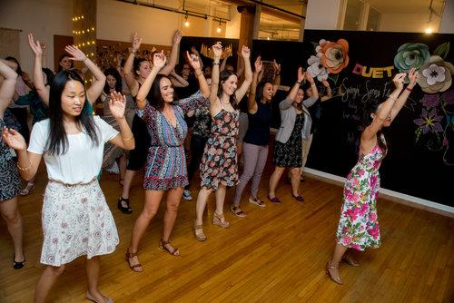 Team Building Events Duet Dance Studio Chicago Ballroom Dance In