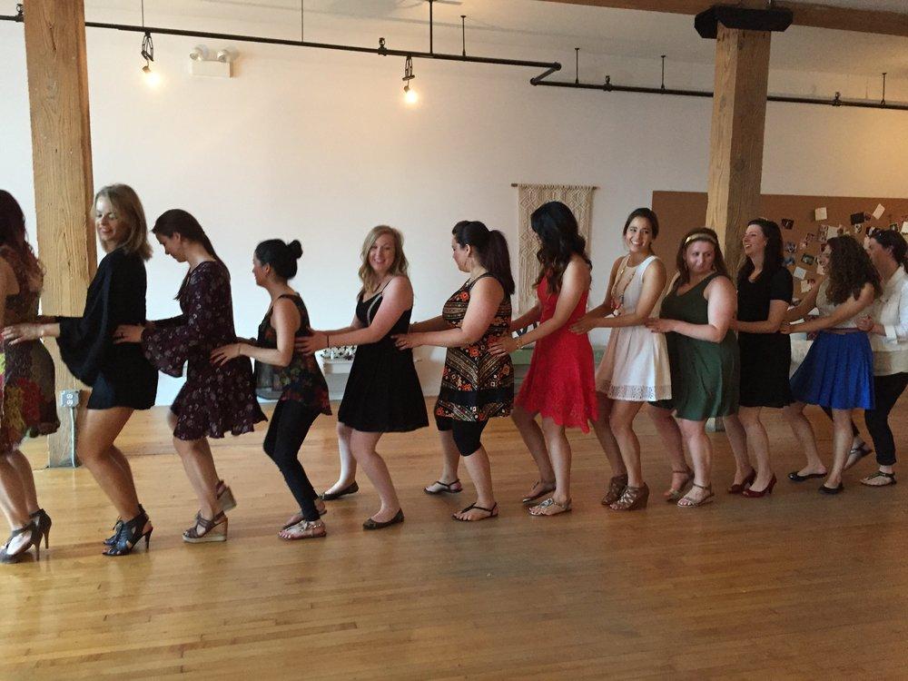 Bachelorette Dance Class Chicago