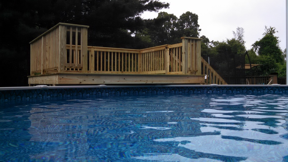 10'x12' Pressure Treated Pool Deck