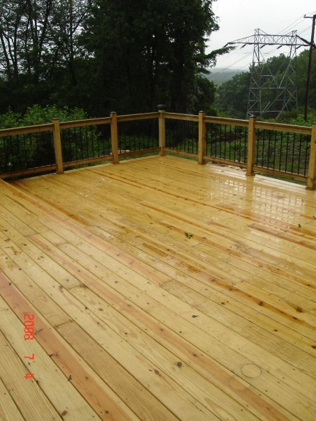 12'x20' Pressure Treated Deck