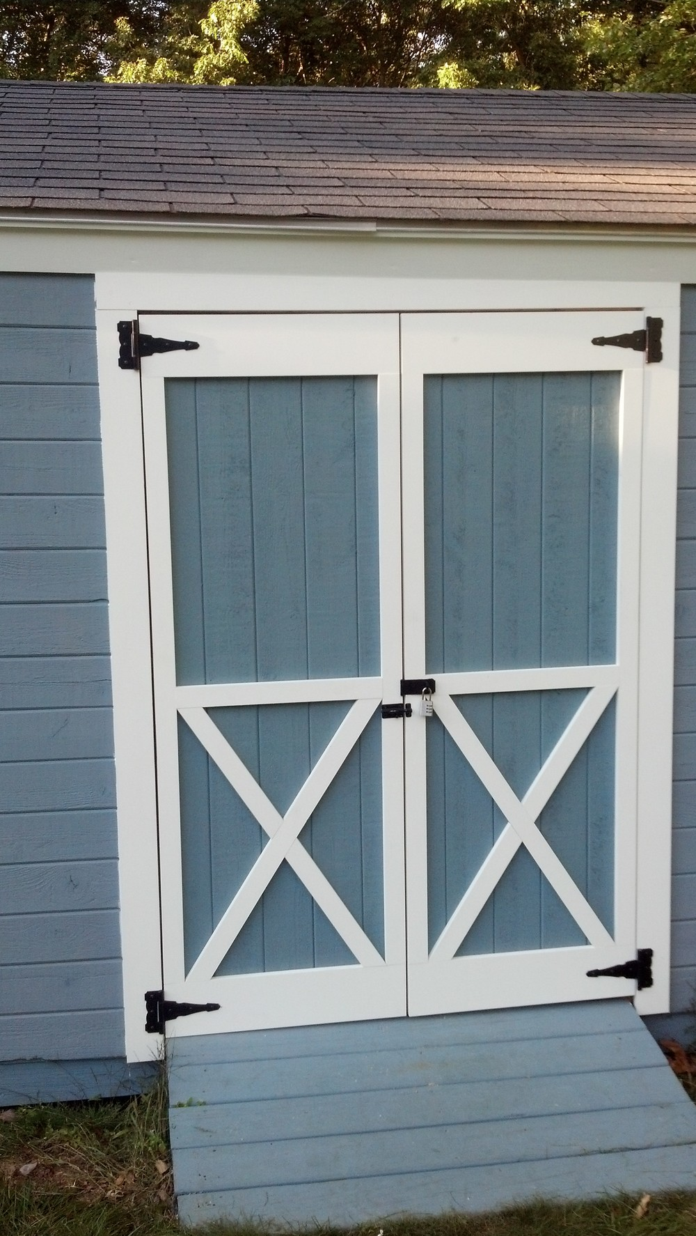 Custom Shed Doors