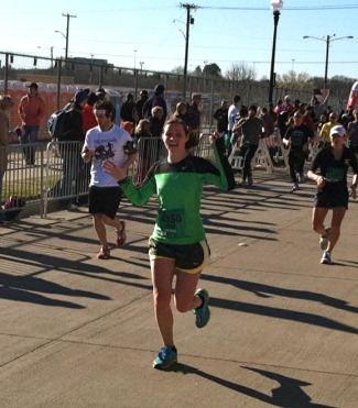 Fort Worth Cowtown Half Marathon 2012