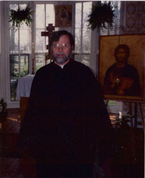 Father Gregory at St. Timothy's