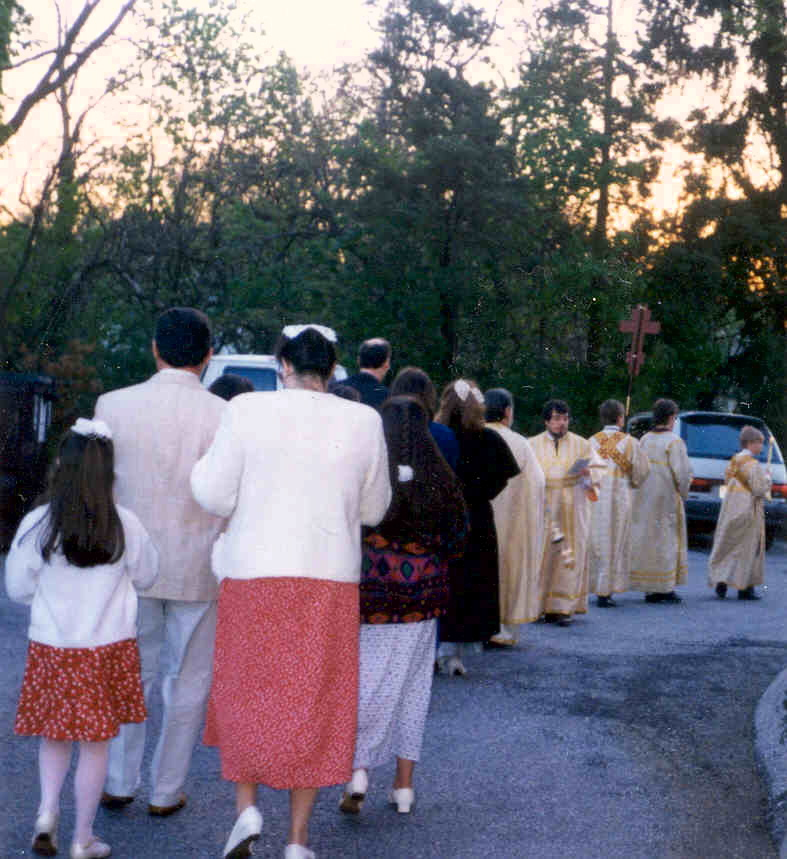 Pascha Processions at Revisions