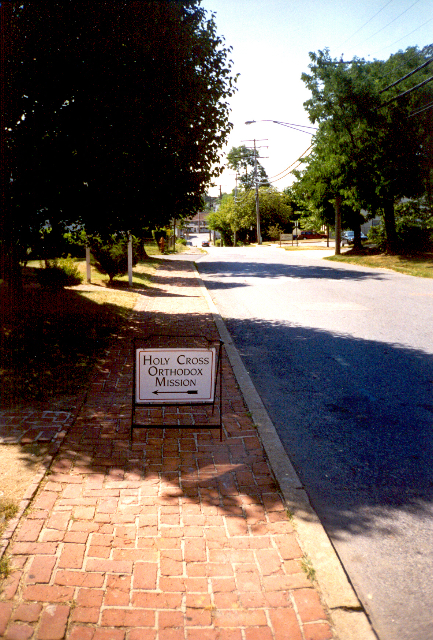 Street Sign at Revisions