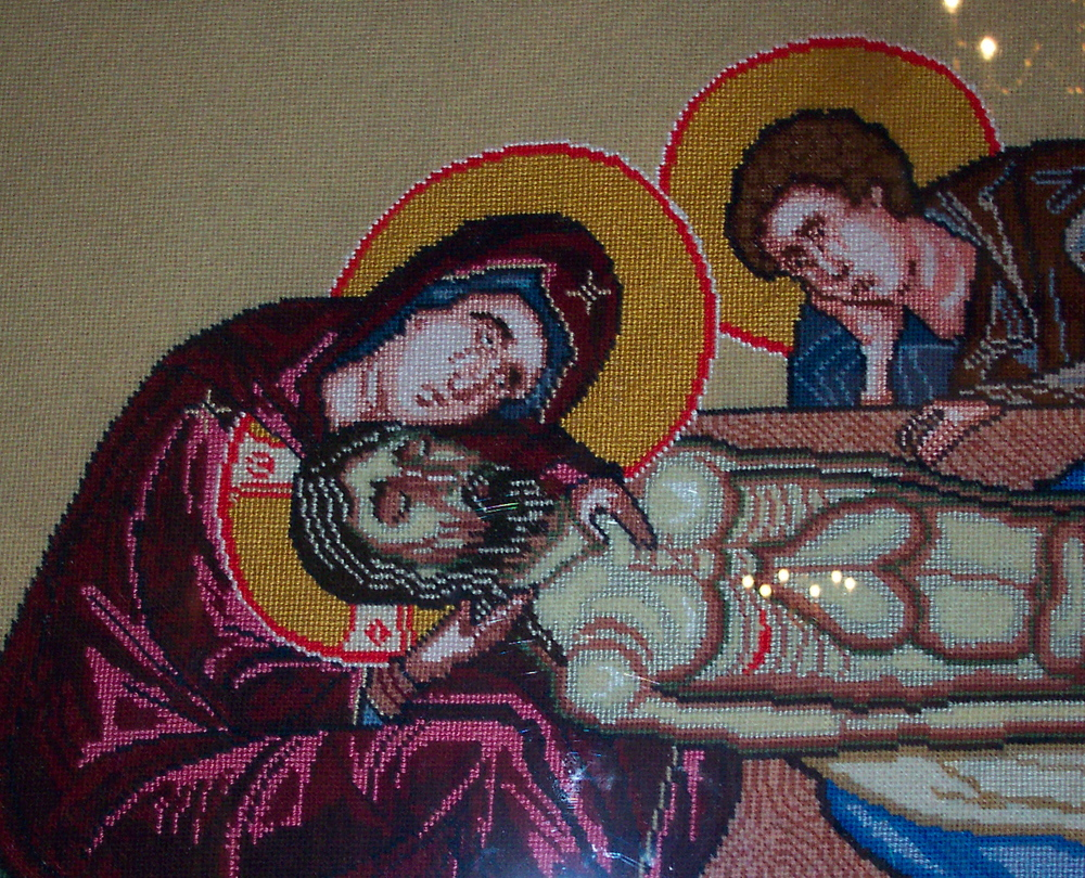 Closeup of Epitaphios
