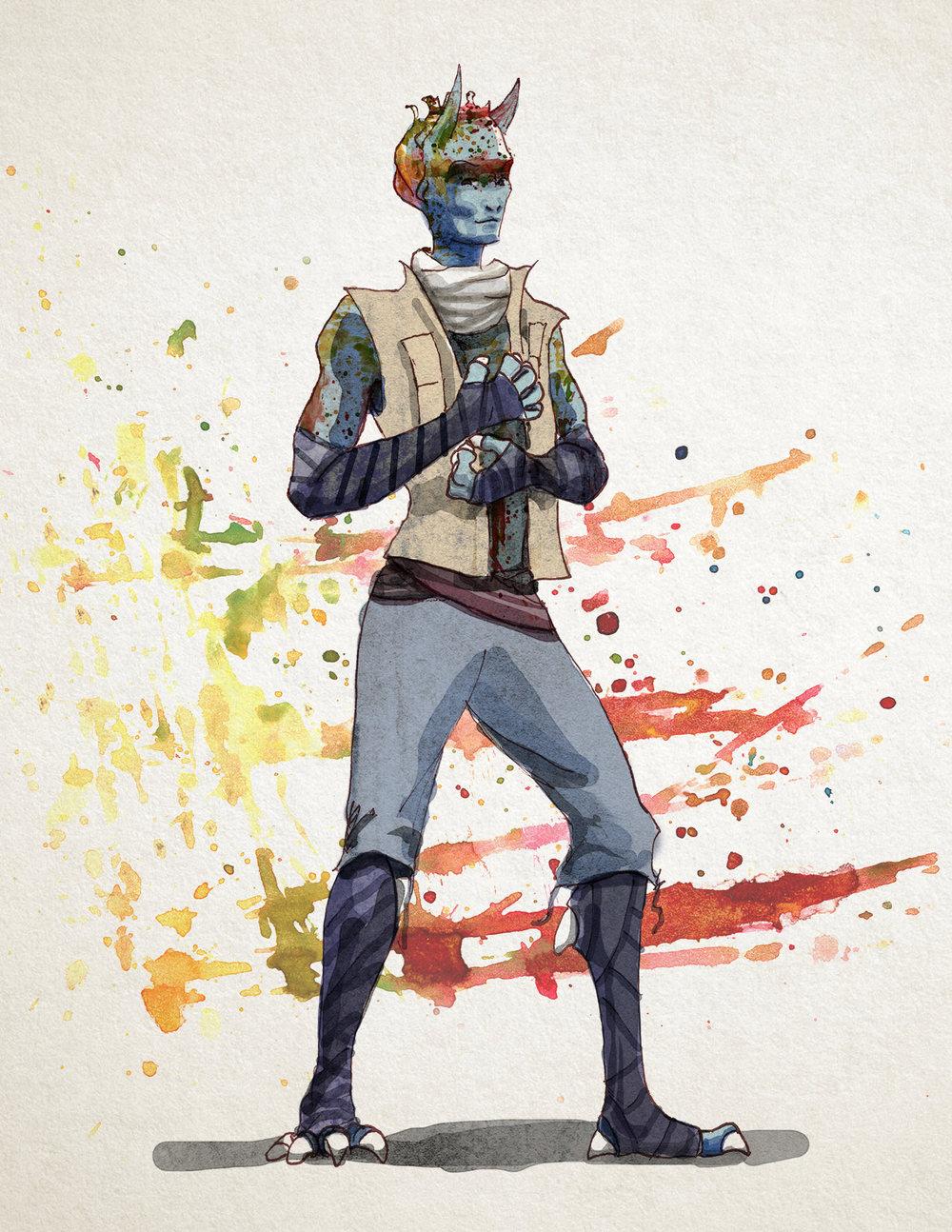 Stryka concept art.