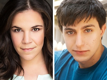 Lindsay Mendez & Gideon Glick