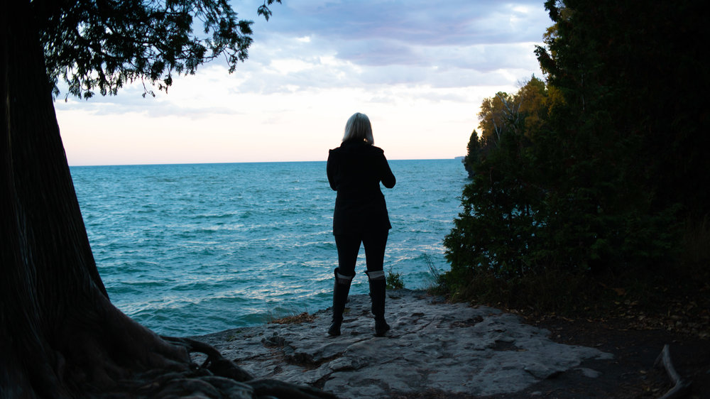 door county, artist, arts, work, sturgeon bay, airbnb, lake michigan, photographer, sunset, fall, october