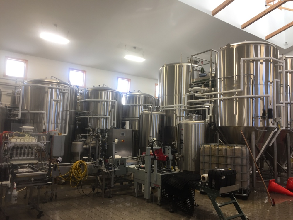 The brewhouse @ Maine Beer Co.