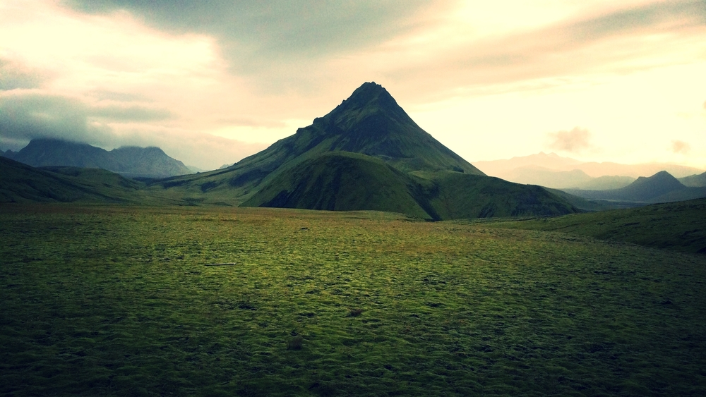 The solitude of Iceland