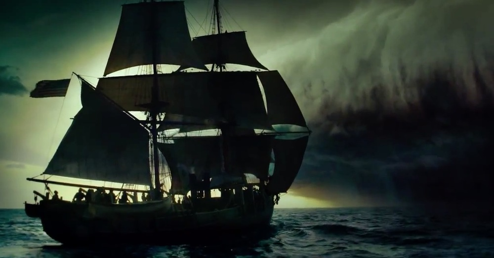Poster image from the forthcoming film In The Heart of the Sea (Moby Dick)