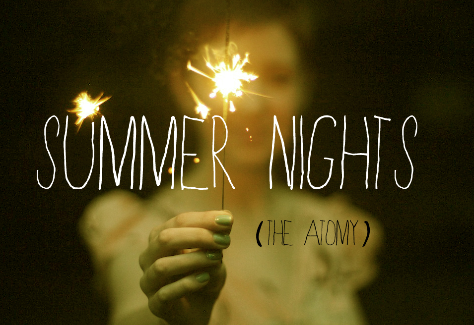 "theatomy :     The Atomy's next theme will be ""Summer Nights."" We're now accepting submissions, so please send us your best fireside story, sparkler-filled photograph or illustrations."