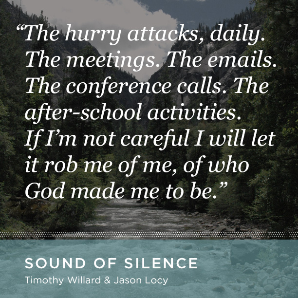 Need a break from the hustle of the season?    Take 20 minutes and read The Sound of Silence.   Available for  free download here