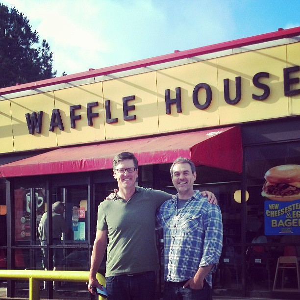 10 years of Waffle House Thursdays ended this morning for Pastor Jon @thevinecc & @jasonlocy #discipleship #kingdombuilding #goodtimes