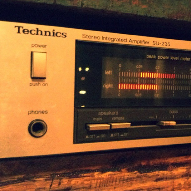 My Technics receiver circa 1984 stopped playing today. A moment of silence please; literally. #hellobosewave