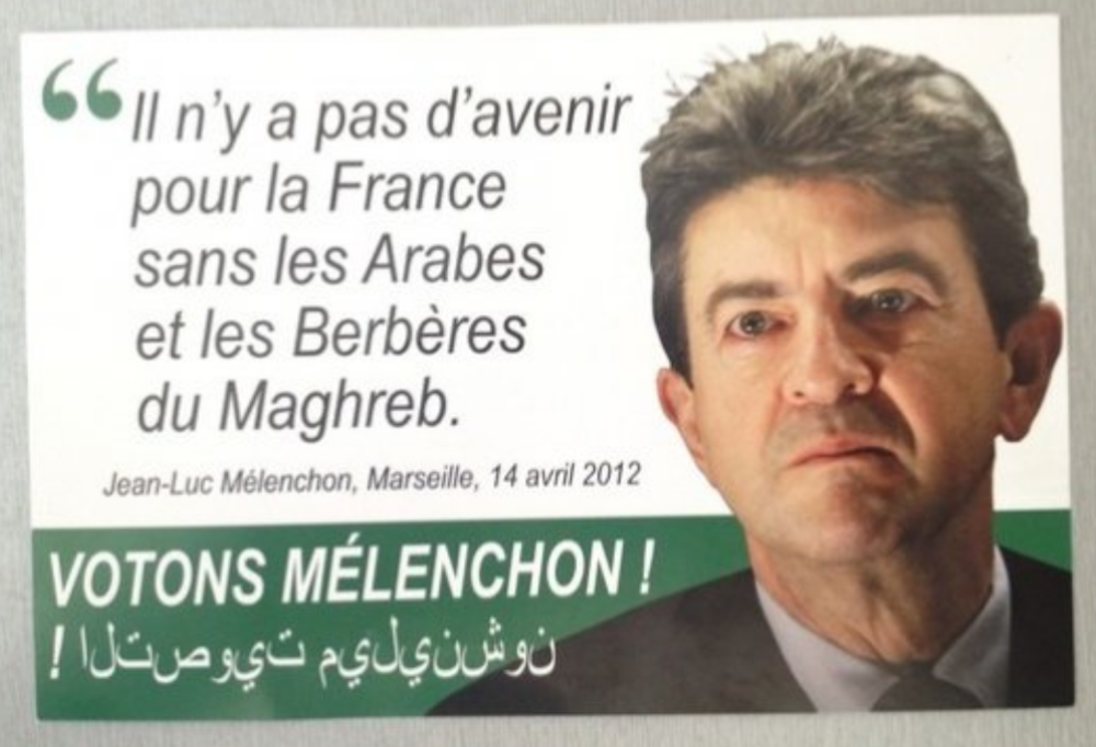2012 leaflet fabricated by the campaign of Marine Le Pen