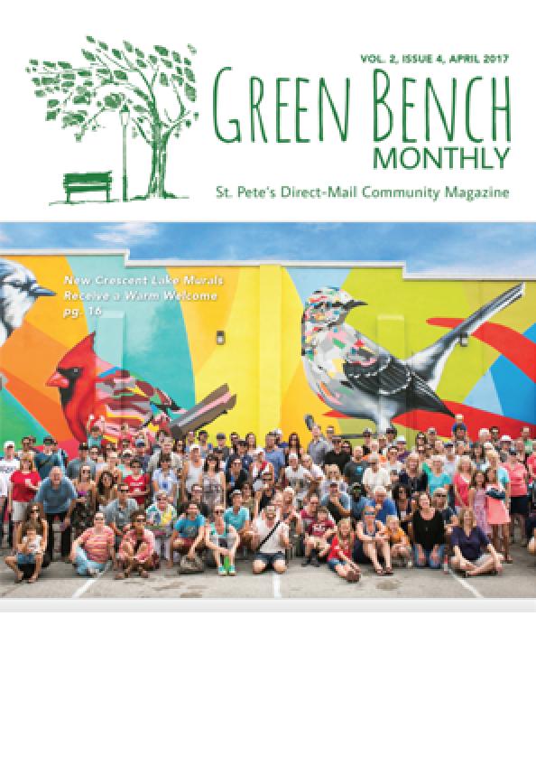 GREEN BENCH -
