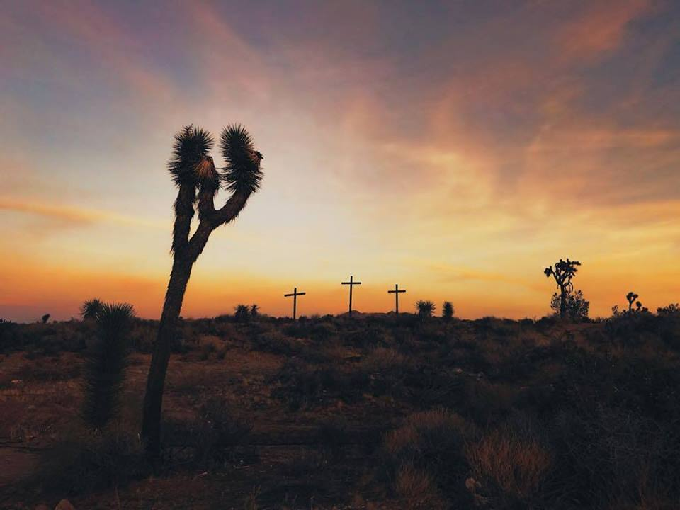 This picture at the last church we played in Yucca valley is a reminder of why we today are able to life a full life, I hope you are reminded today that God is greater than any worry, past, struggle, abuse, or sin.  I thank God for your life today dear reader and I am praying for you during this week.