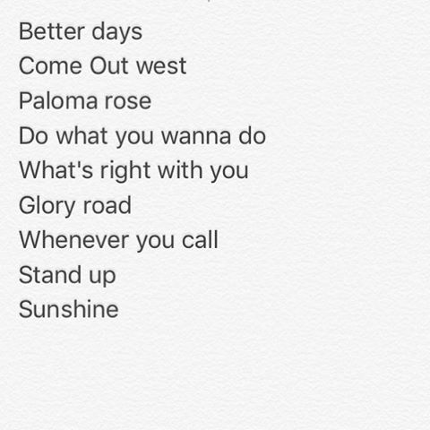 Gonna go back in the studio soon and cut a live band EP of some of my favorites from past albums. I need to your help to decide which 5 songs make the cut! Out of these which are your top 5? Leave a comment below! 🎶🎤🎸🎺🎷🥁