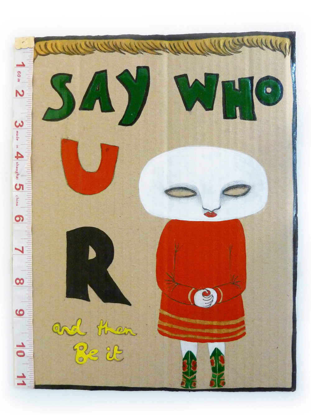 Say who you are, 2010