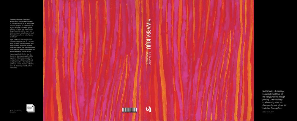 Cover art: Jilji by Rosie Taco, 2008. Mangkaja Arts