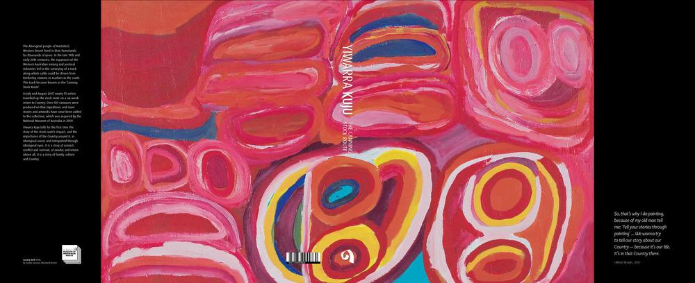 Cover art: Sunday Well (detail) by Dadda Samson, Martumili Artists, 2008