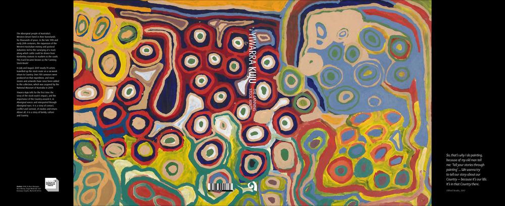 Cover art: Kunkun (detail) by Nora Wompi, Nora Nangapa, Kumpaya Girgaba & Bugai Whylouter. Martumili Artists, 2008.