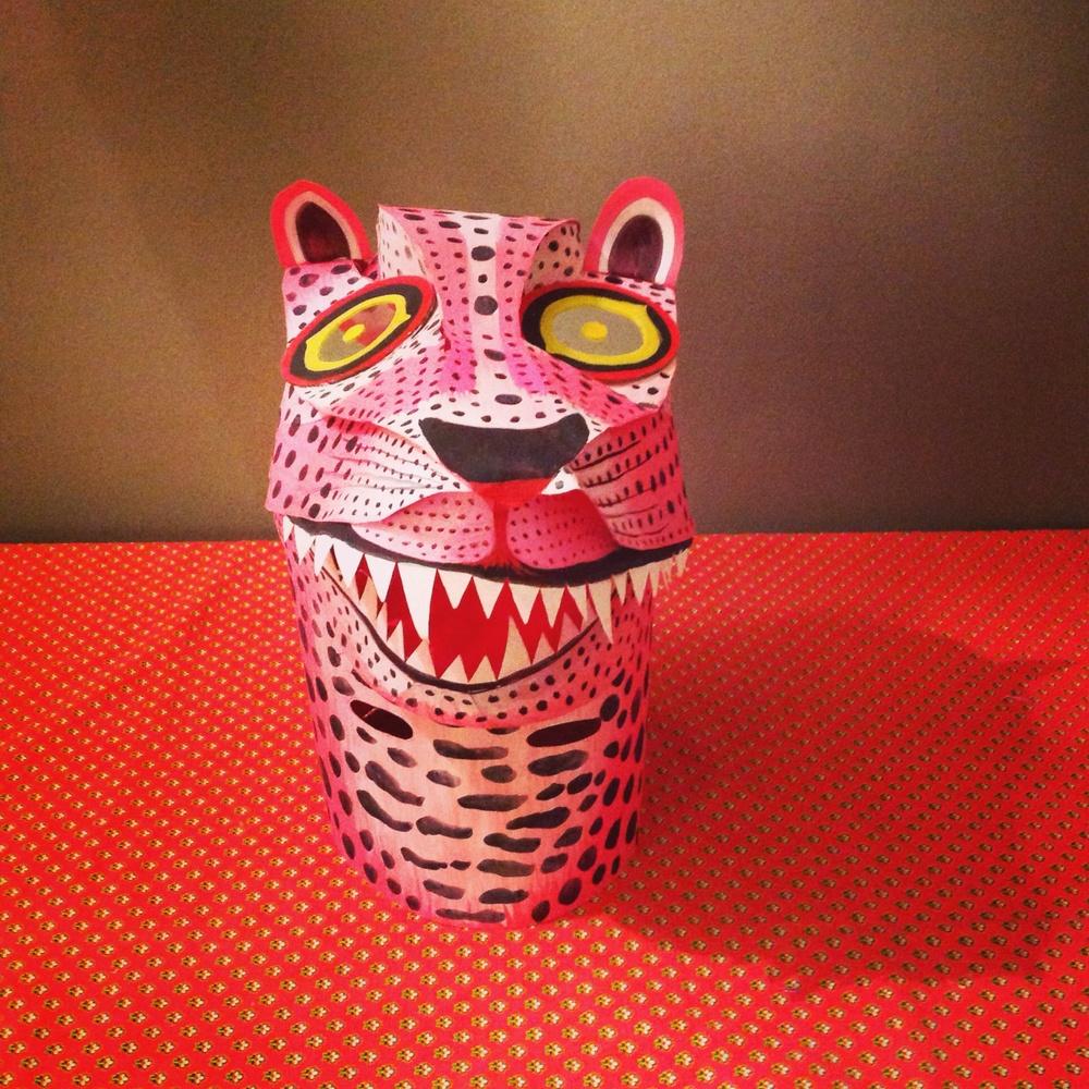 Jaguar mask, 2014