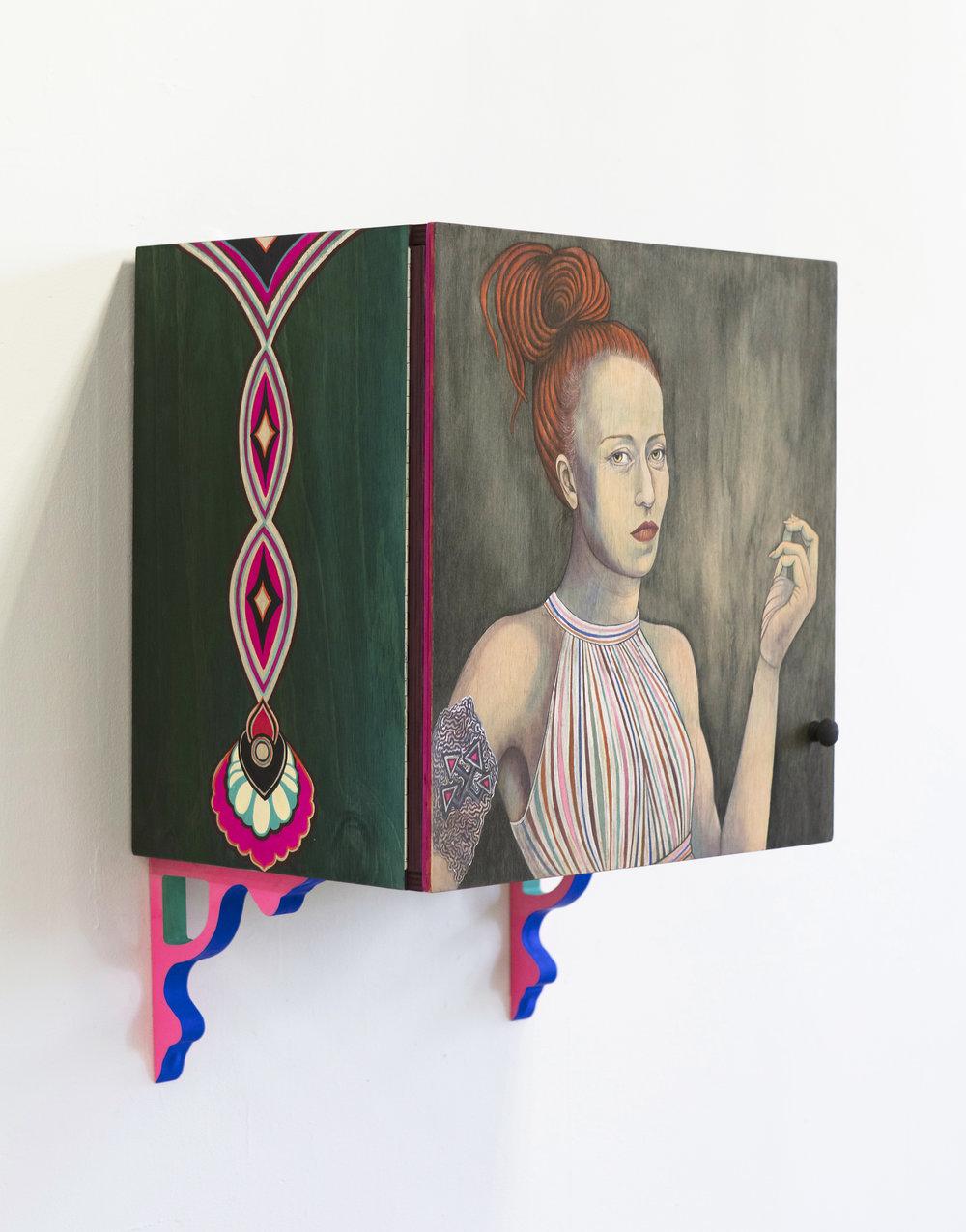 Trishy (detail), 2016