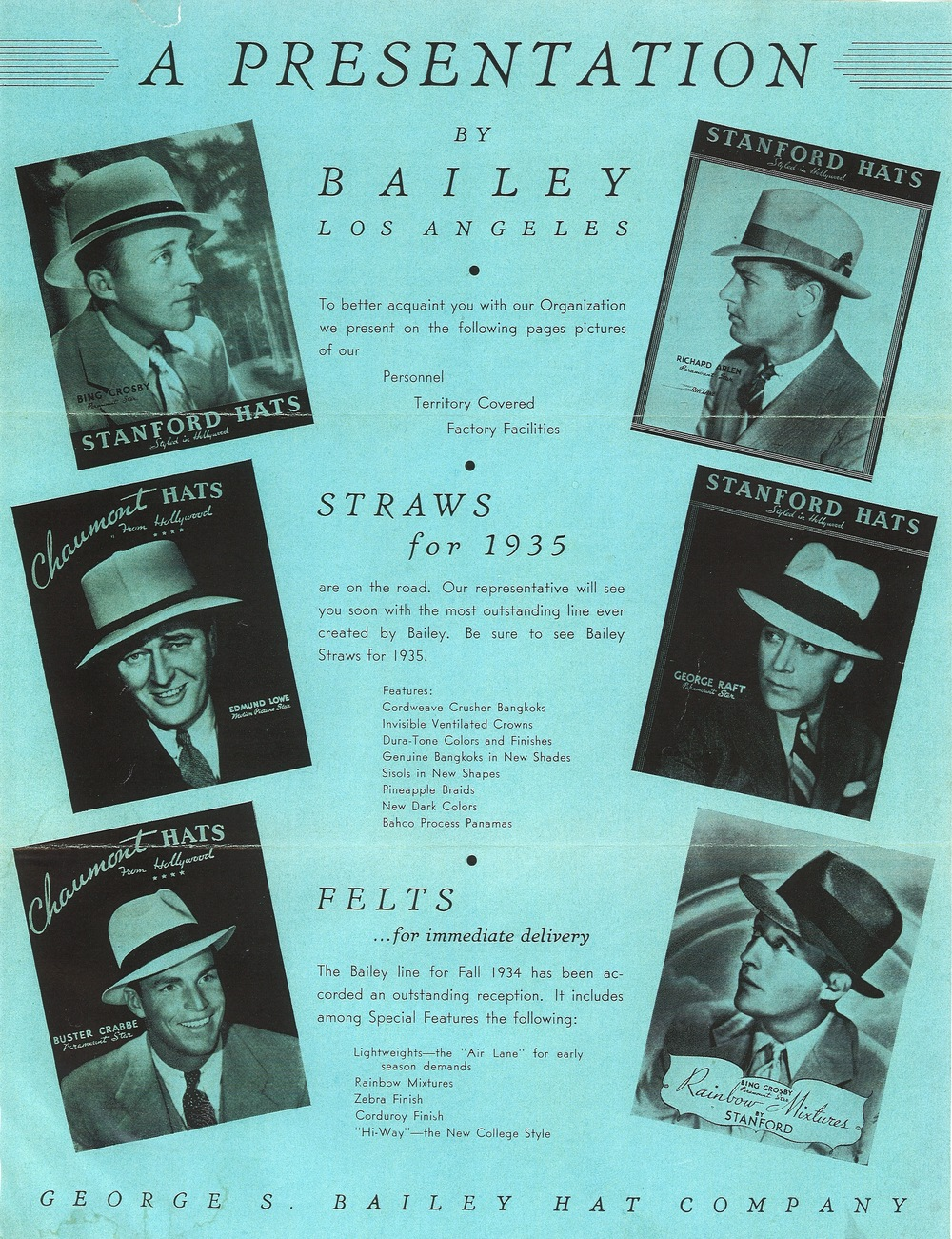 7c0e95324b9 Bailey Hats Nyc - Parchment N Lead