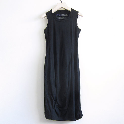 fd029f8705db67 Rundholz Black Label sleeveless dress - black — TASK