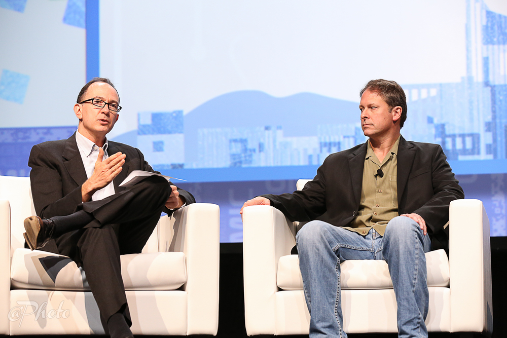 Wade interviewing Tayloe Stansbury, CTO at Intuit