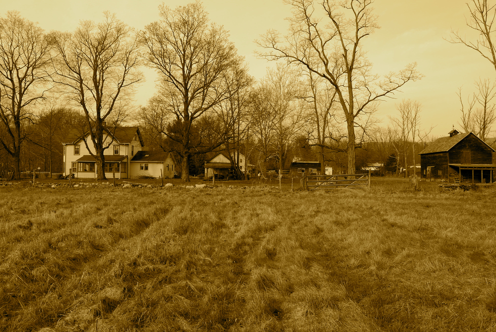 "©""Old Farm"" photograph by Shelita Birchett Benash"