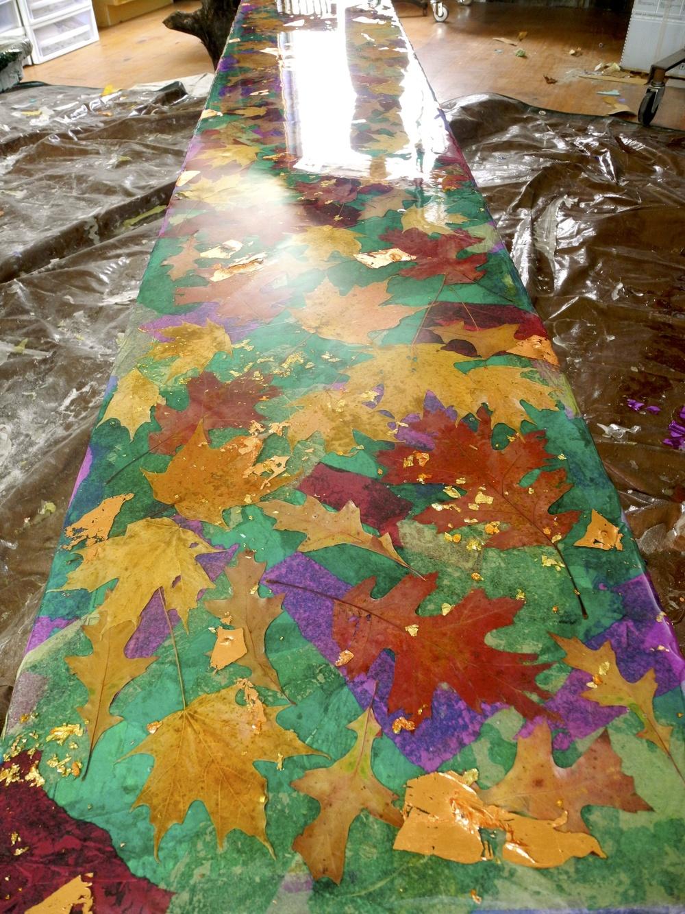 Recycled Art Bench by Shelita Benash