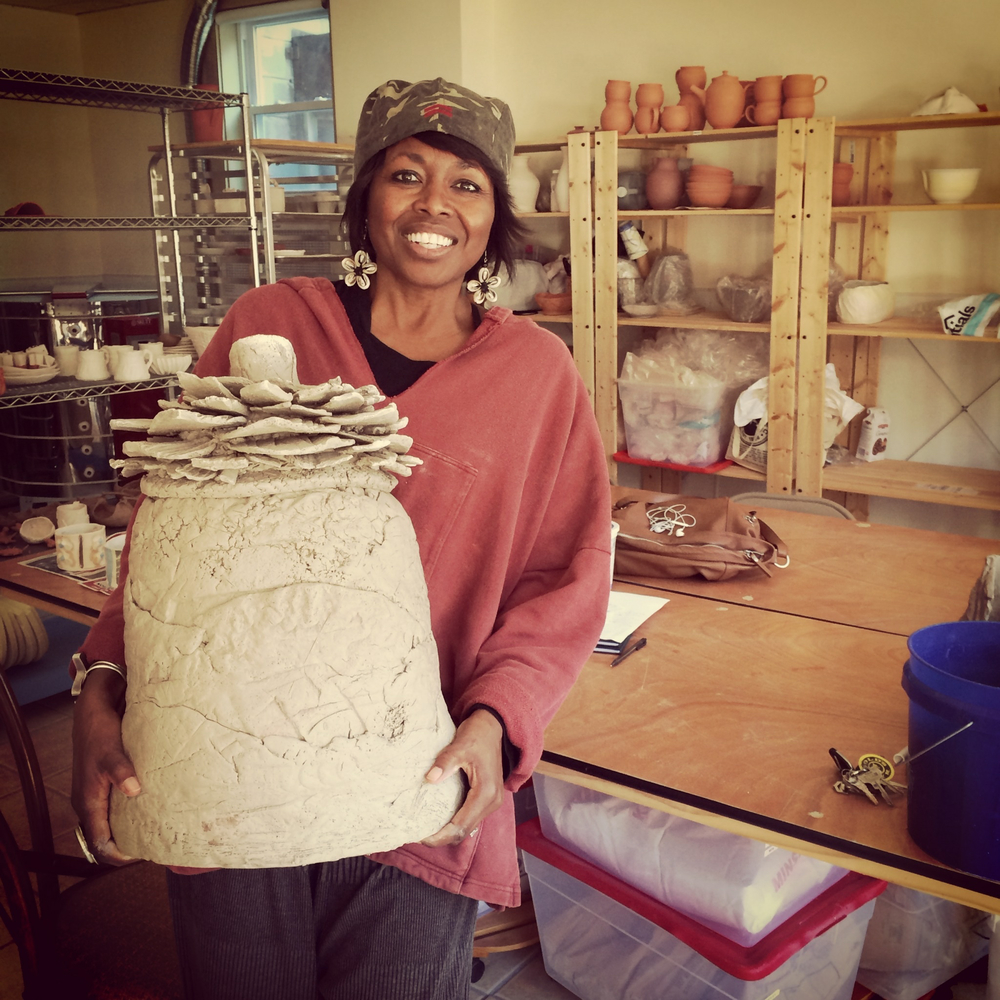 Yonkers Peace Pottery Studio Shelita Birchett Benash