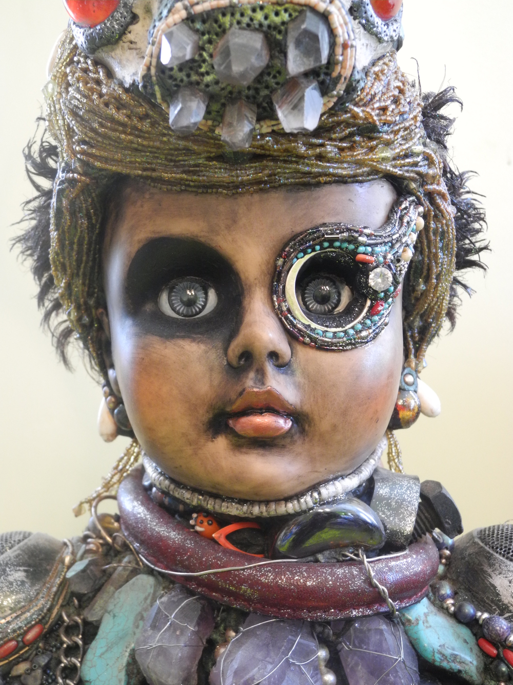 "©Photograph by Shelita Birchett Benash, 2015.   Anothai Hansen-""Spirit Doll,"" 2015."