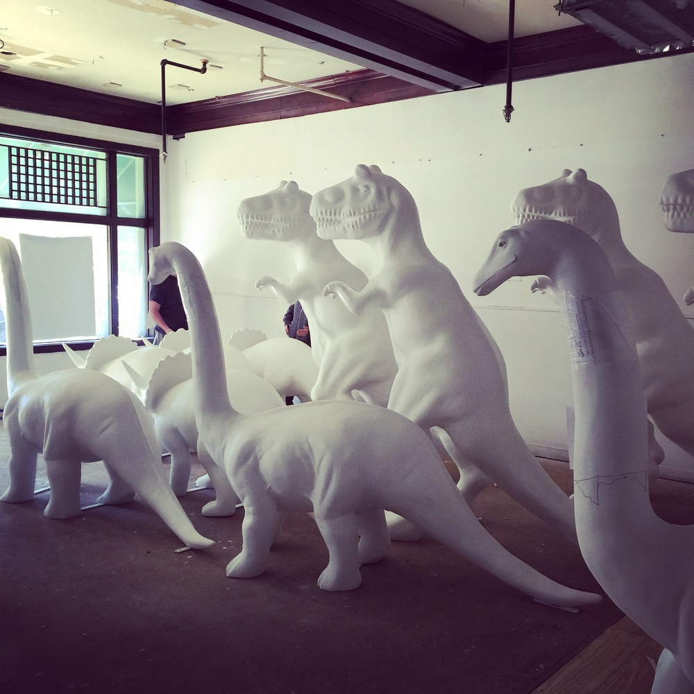 Dinosaurs Rule!   Stamford Downtown 2015. Art in Public Spaces.