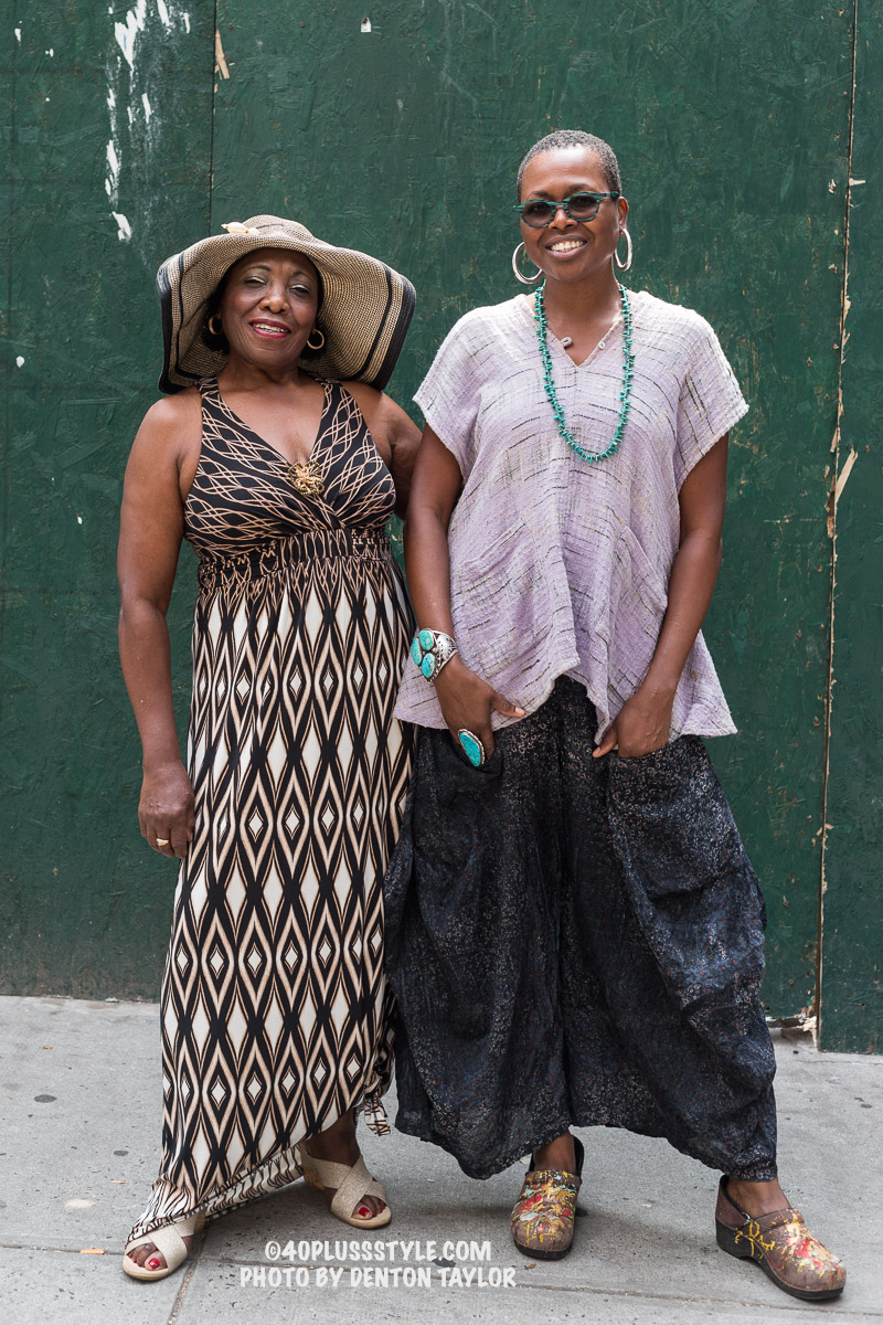 SHELITA BIRCHETT BENASH WITH MOTHER, RUTH BIRCHETT, NYC, PHOTO BY DENTON TAYLOR, 2015