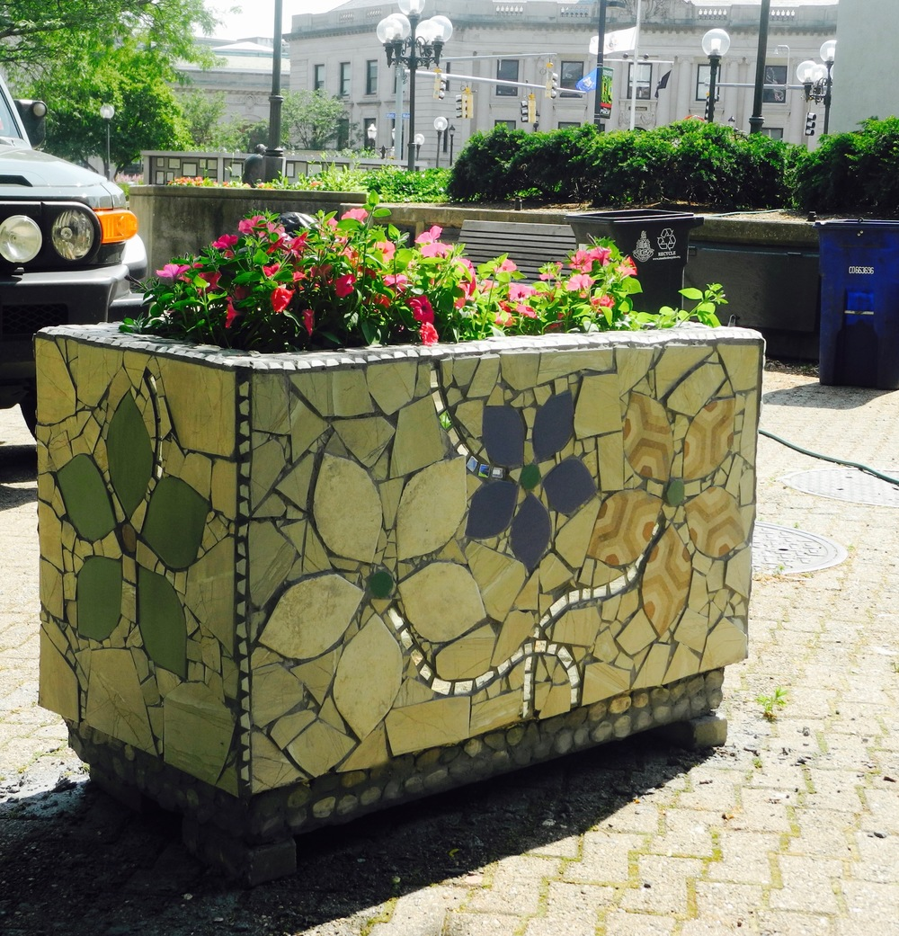 Stamford Planter Mosaic_Shelita Birchett Benash_2016