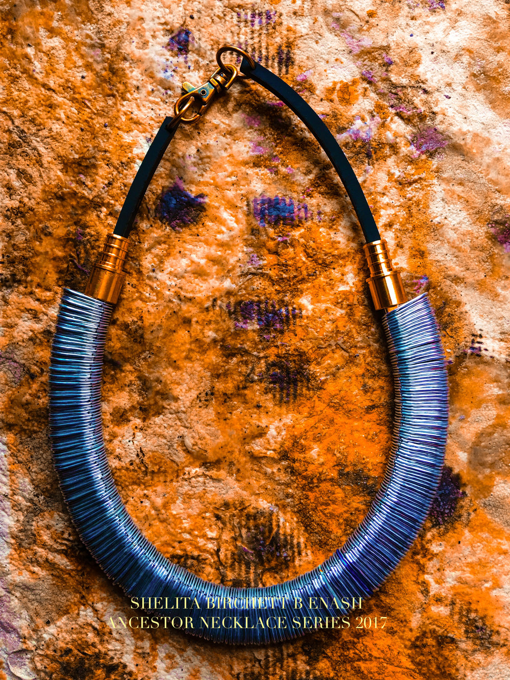 ©Shelita Birchett Benash  Ancestor Necklace Series 2017