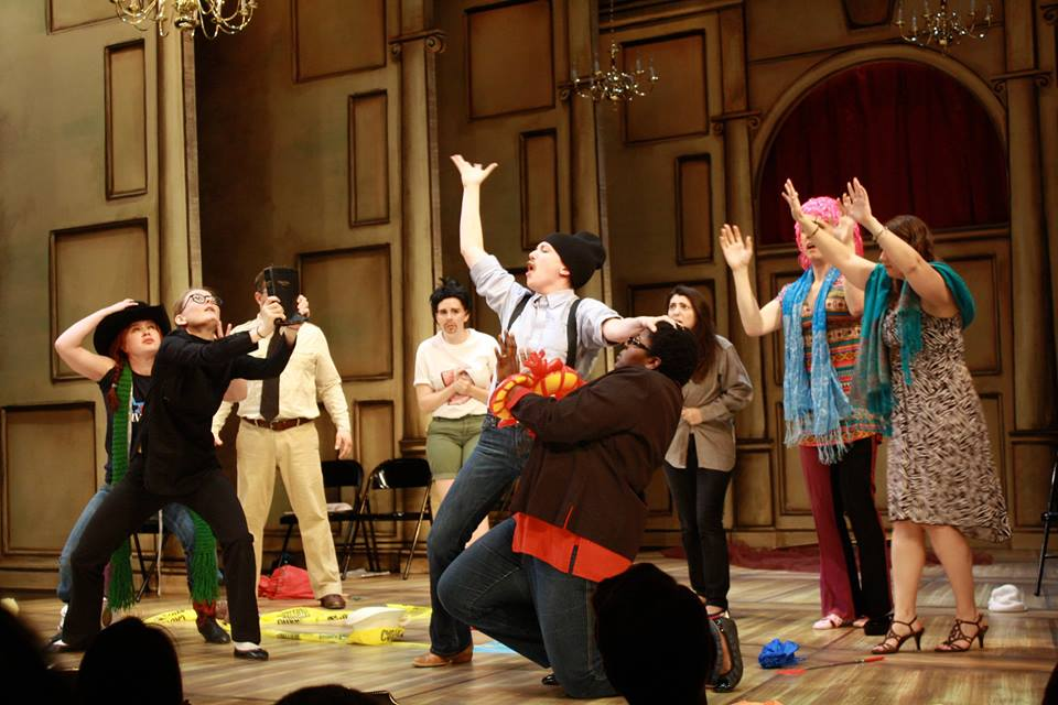 as Pinch's helper The Comedy of Errors 2014