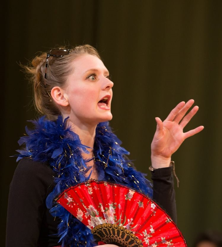 as The Queen in Hit & Run Shakespeare:Cymbeline 2014