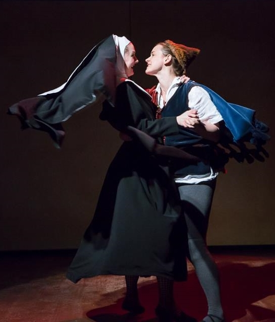 as Sister Seraphina in The Tragedy of Dandelion 2014