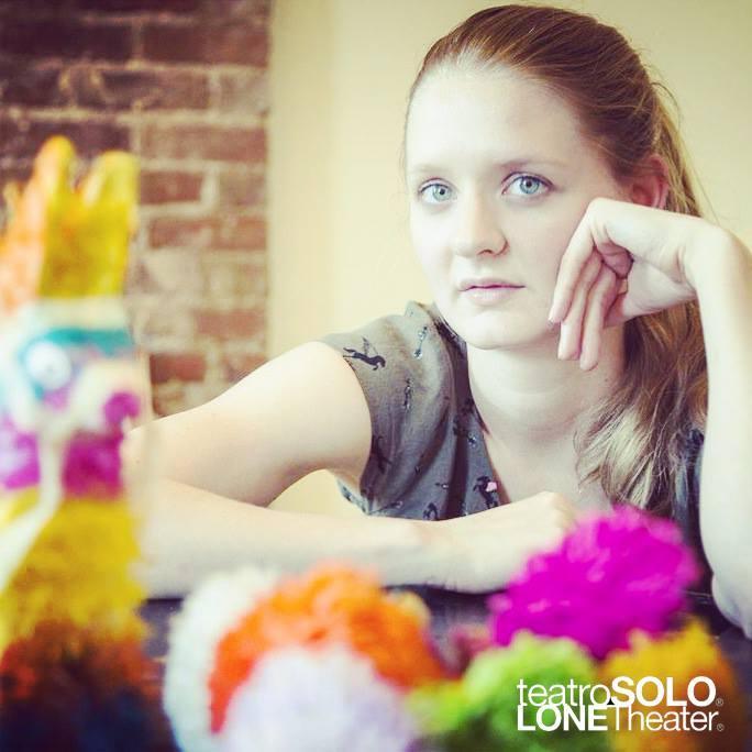 as Laura in LONEtheater's Exodus ,  2014