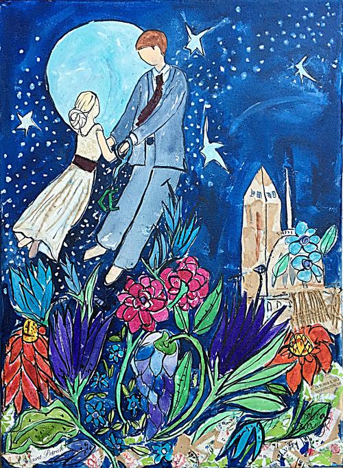 Wedding Paintings Deborah Cavenaugh