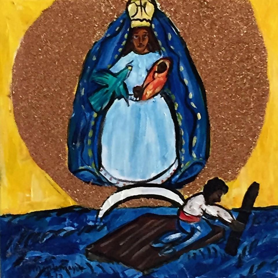 Virgin De La Caridad Del Cobre