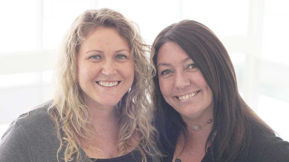 Co-founders, Colleen Lindemann & Tonia Richardson